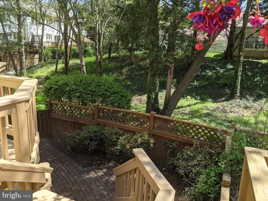 View from the Deck - 10481 COURTNEY DR, FAIRFAX