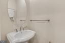 First floor powder room - 11357 RIDGELINE RD, FAIRFAX