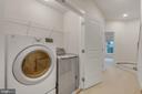Second floor laundry - 11357 RIDGELINE RD, FAIRFAX
