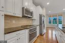 Stainless steel appliances and gas stove - 11357 RIDGELINE RD, FAIRFAX