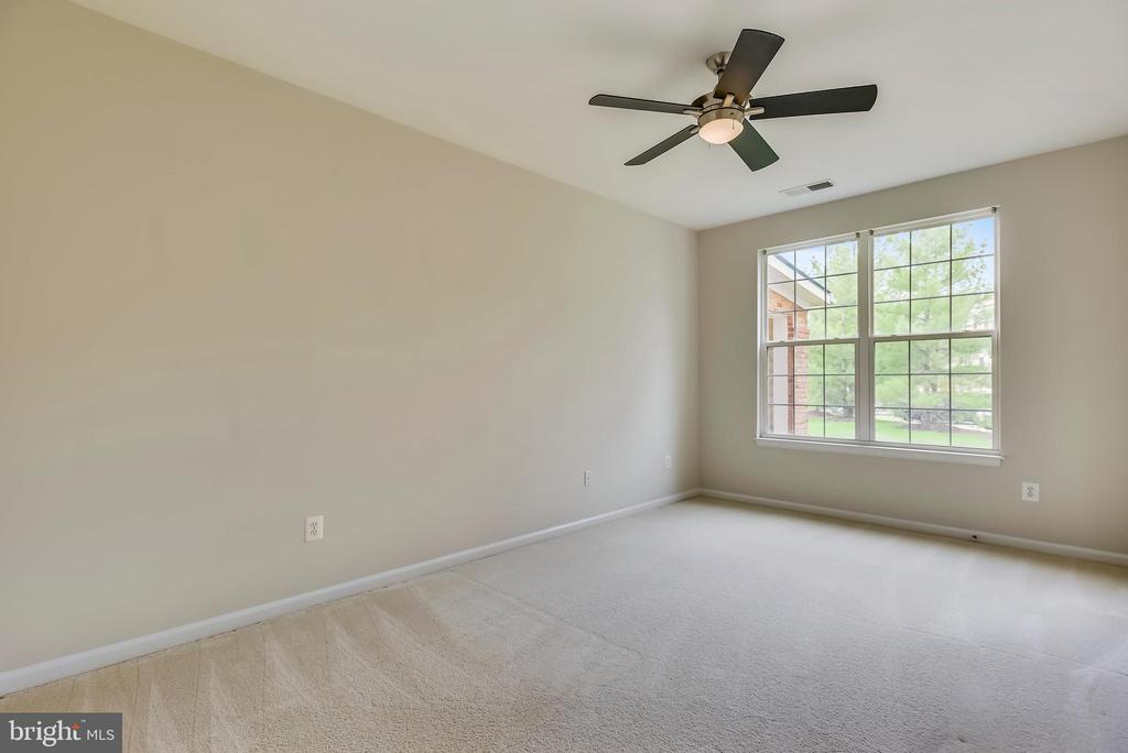 Master bedroom is light and bright. - 43371 LOCUST DALE TER #117, ASHBURN
