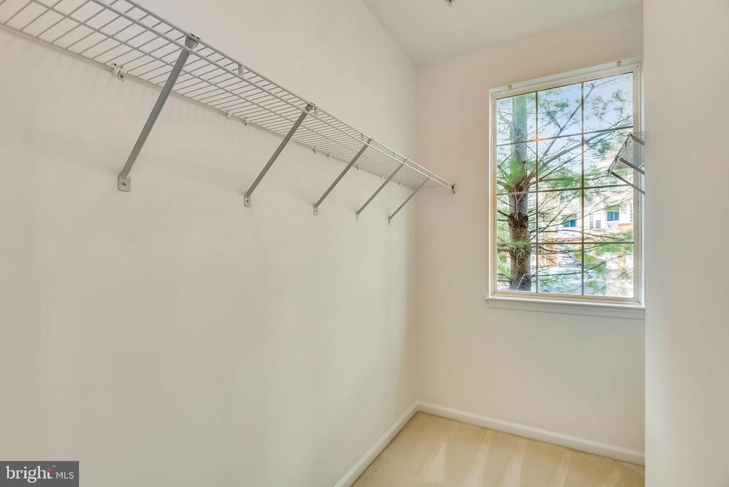 2nd bedroom walk-in closet - 43371 LOCUST DALE TER #117, ASHBURN