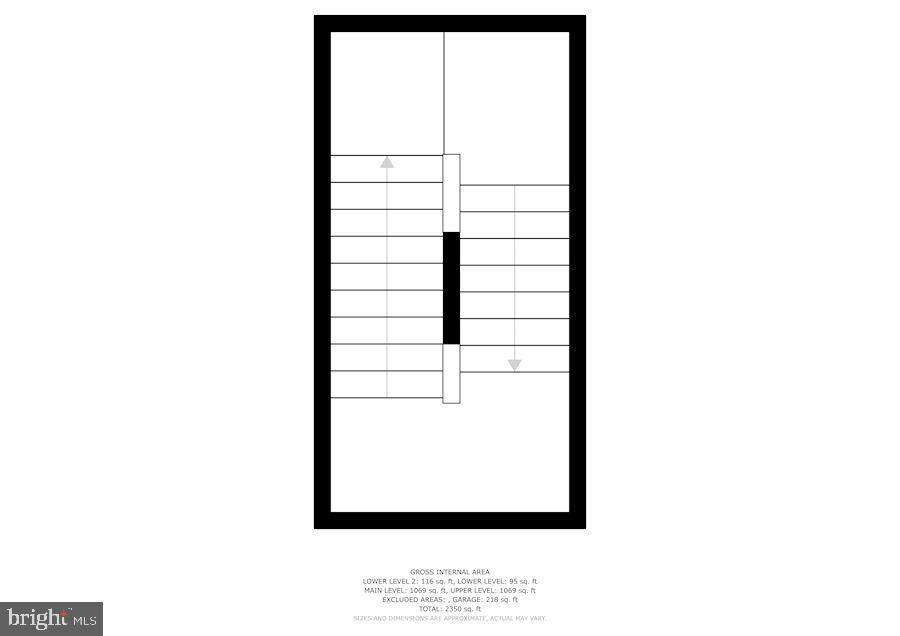 Floor Plan - Second Level - 43213 THOROUGHFARE GAP TER, ASHBURN