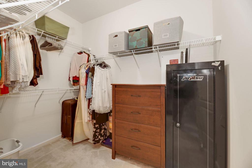 Prim. BR Walk-In Closet - What Dreams Are Made Of! - 43213 THOROUGHFARE GAP TER, ASHBURN