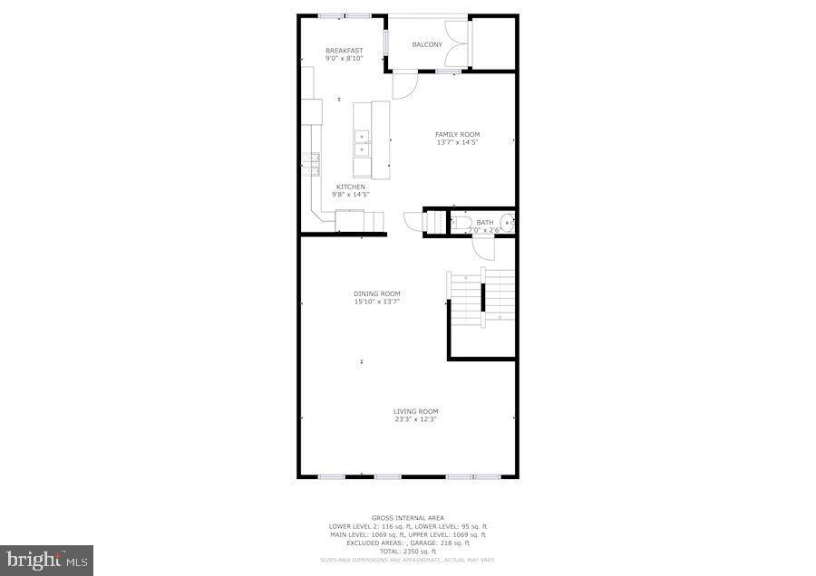 Floor Plan - Third Level - 43213 THOROUGHFARE GAP TER, ASHBURN