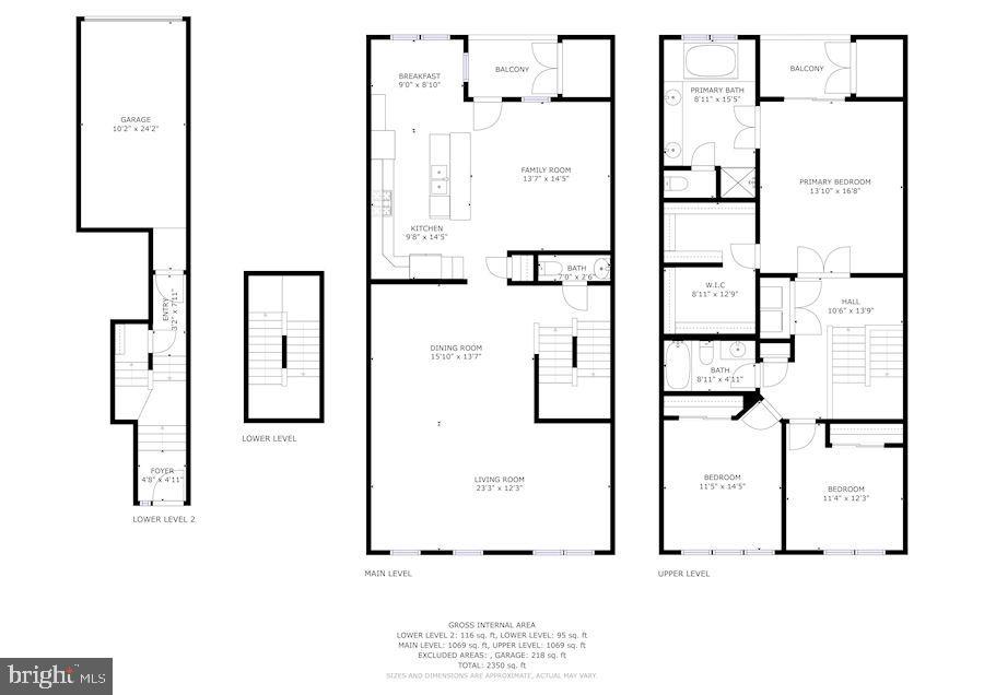 Cumulative Floor Plans - 43213 THOROUGHFARE GAP TER, ASHBURN