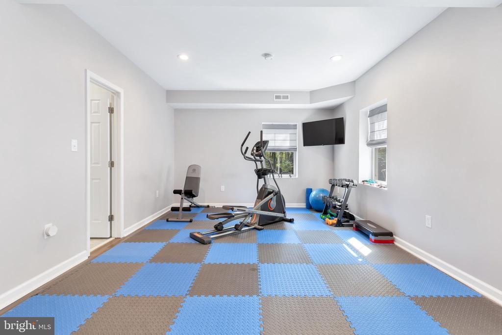 Basement Workout Area - 12329 PURCELL RD, MANASSAS