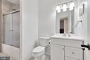 Basement Bedroom Room's Full Bathroom - 12329 PURCELL RD, MANASSAS