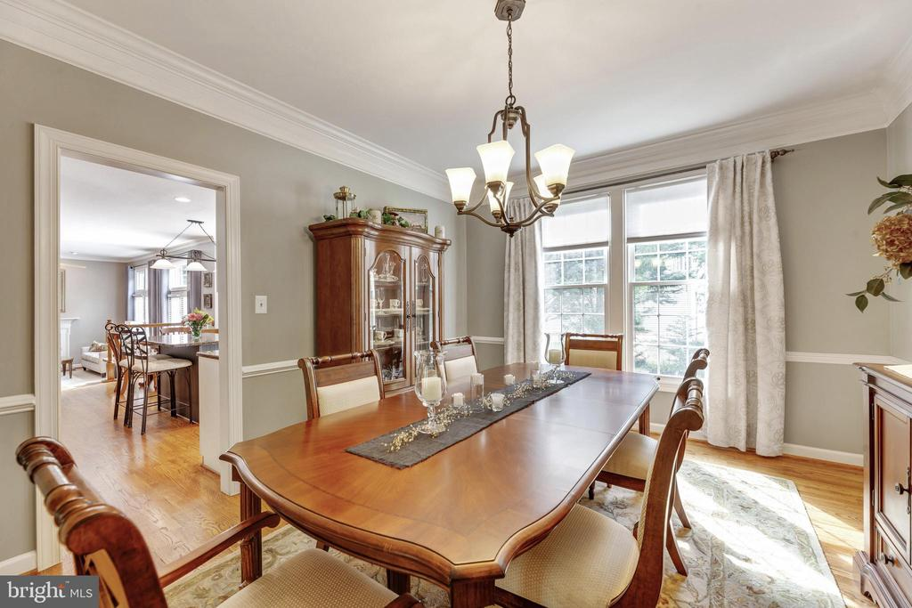 Dining Room - 16660 MALORY CT, DUMFRIES