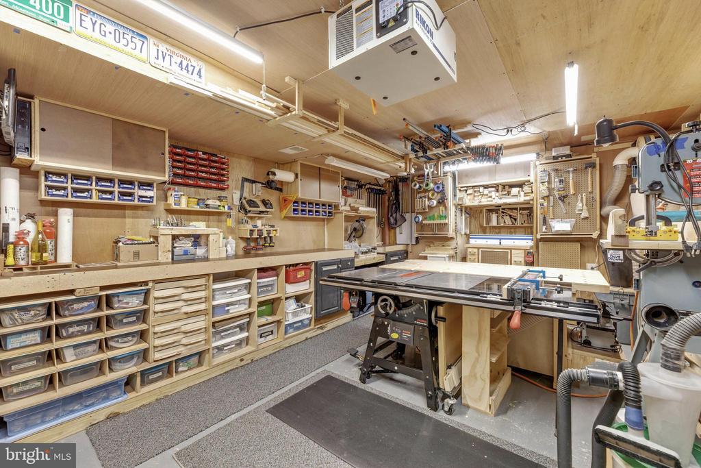 Basement Workshop - 16660 MALORY CT, DUMFRIES