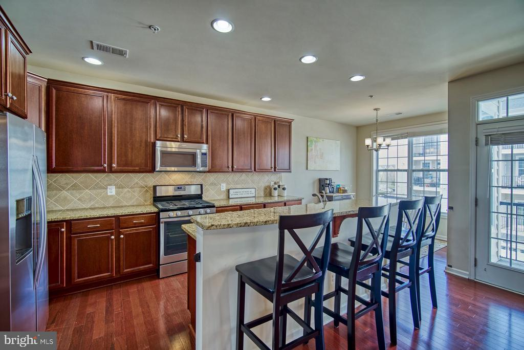 Gorgeous Gourmet Kitchen - 43015 CLARKS MILL TER, ASHBURN
