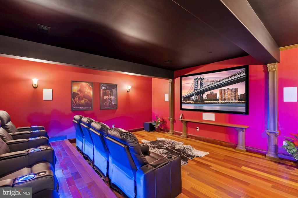 Professional Home Cinema - 612 RIVERCREST DR, MCLEAN