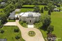 Aerial View Includes Tennis Court - 9300 RIVER RD, POTOMAC