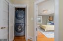 Upper-Level Washer/Dryer - 224 N JACKSON ST, ARLINGTON