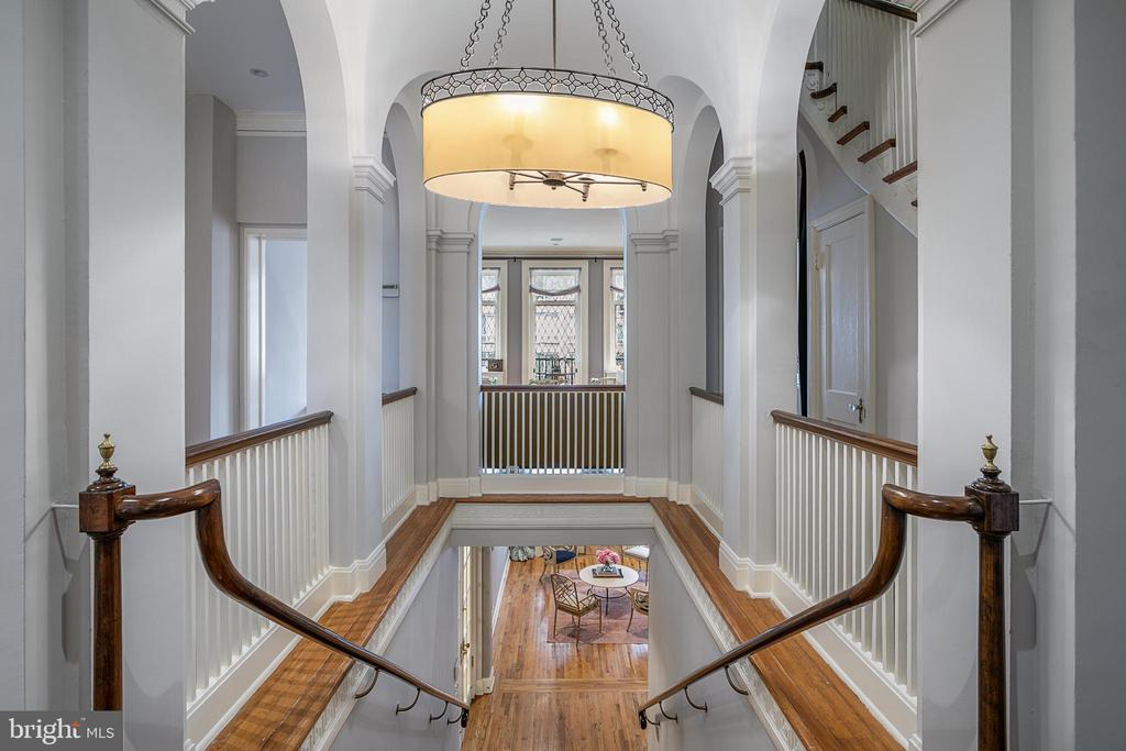 Dramatic Stairway to Second Level - 2019 Q ST NW, WASHINGTON