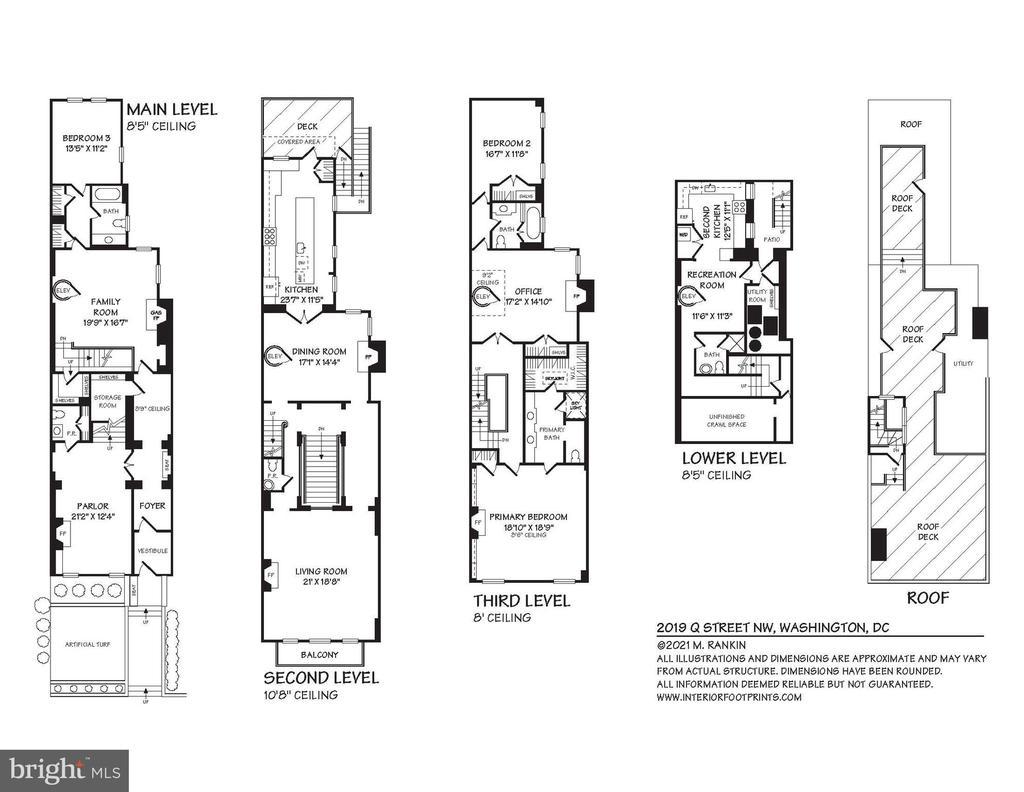 Floor Plan - 2019 Q ST NW, WASHINGTON