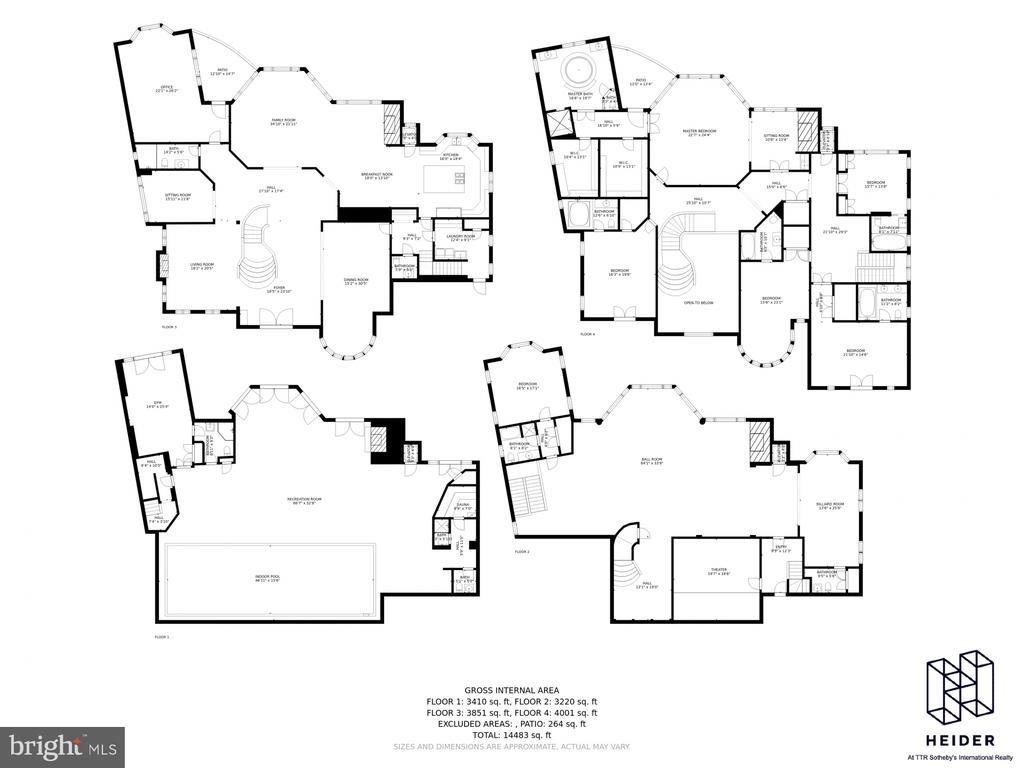 Floor Plans - 612 RIVERCREST DR, MCLEAN