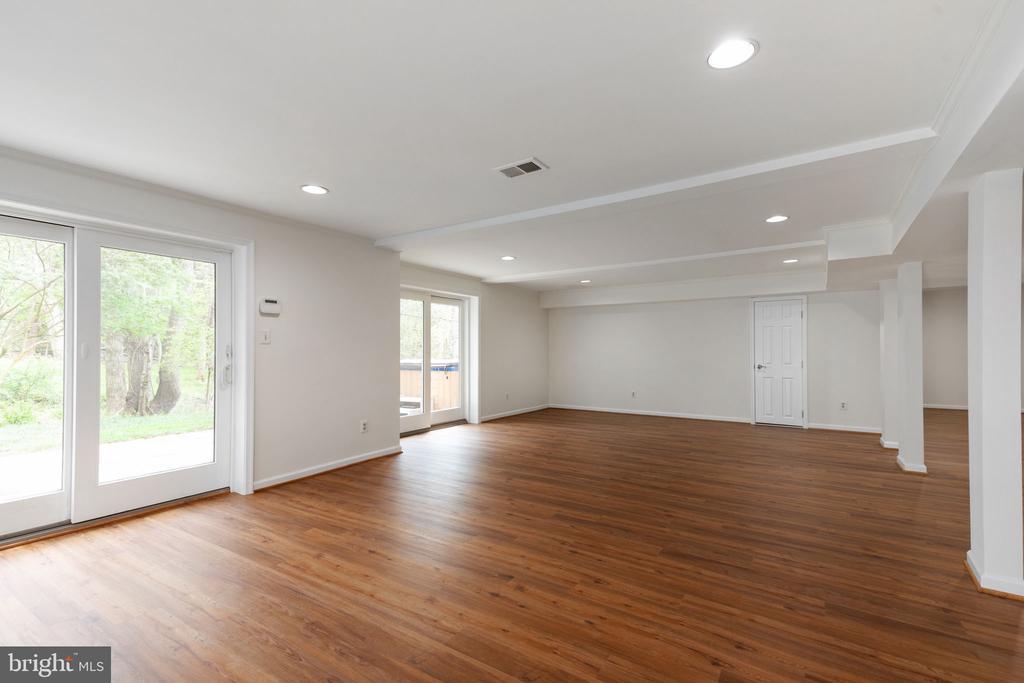 Lower Level Recreation Room - 2405 OAKMONT CT, OAKTON