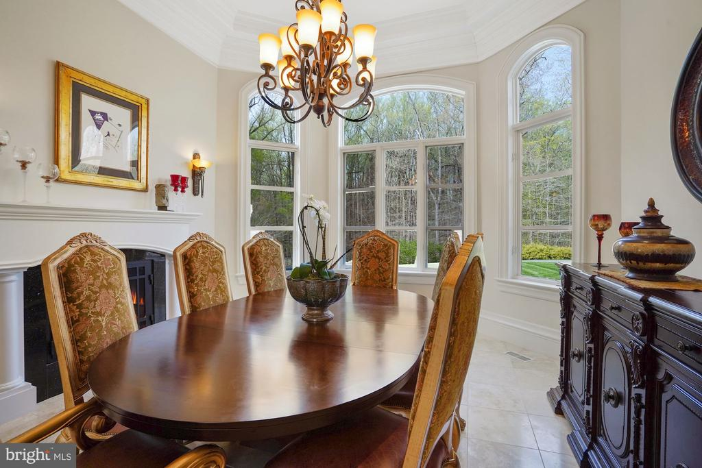 Dining Room - 9211 BLACK RIFFLES CT, GREAT FALLS
