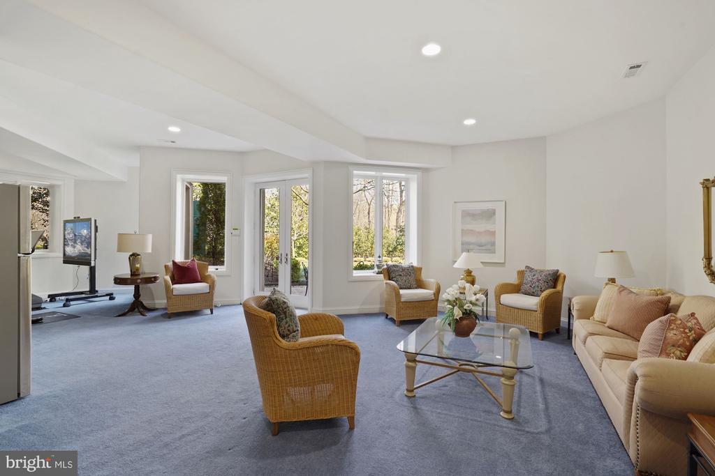 Lower Level Sitting Room - 9211 BLACK RIFFLES CT, GREAT FALLS