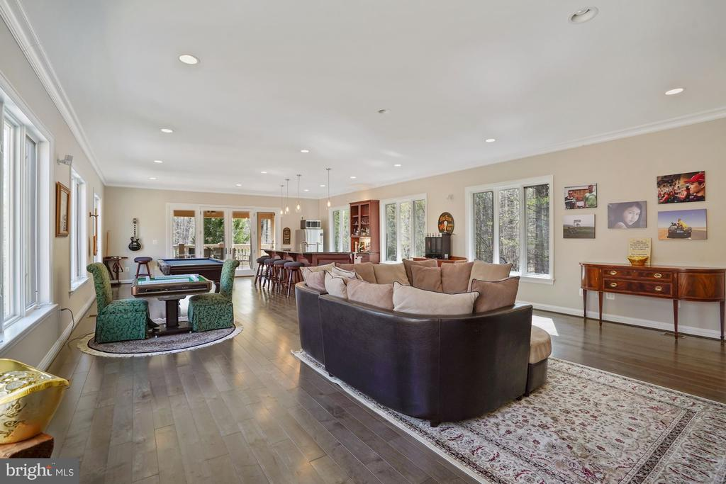 Wonderful Party Room on Upper Level - 9211 BLACK RIFFLES CT, GREAT FALLS