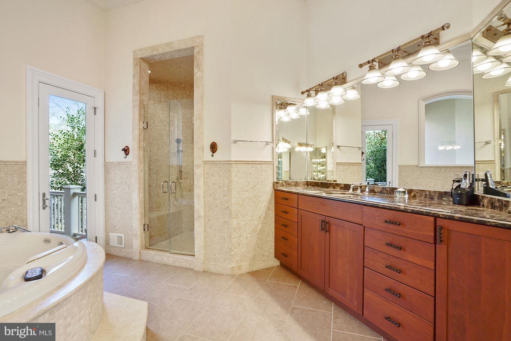 Owners' Bath - 9211 BLACK RIFFLES CT, GREAT FALLS