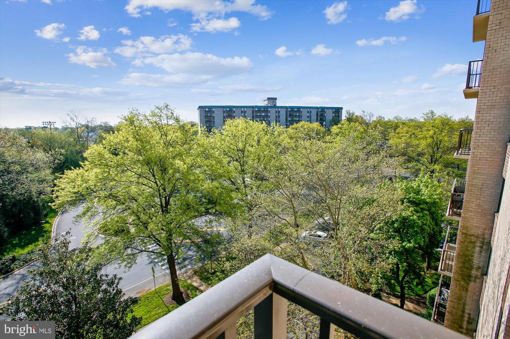Beautiful Views from Balcony - 3100 S MANCHESTER ST #612, FALLS CHURCH