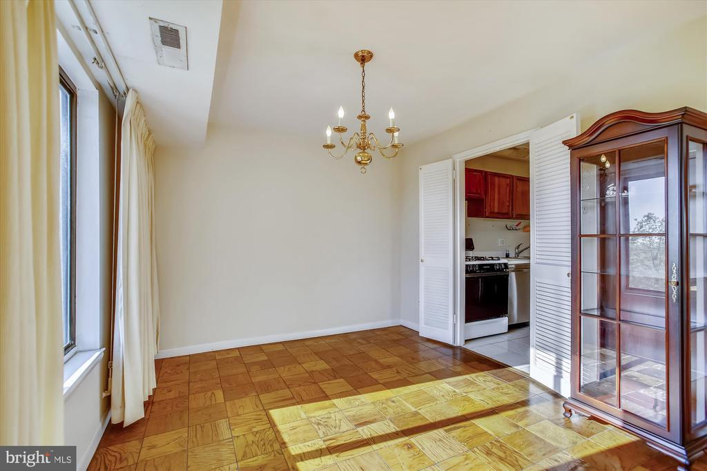 Dining Room - 3100 S MANCHESTER ST #612, FALLS CHURCH