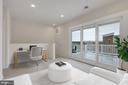 Bonus living space w/walkout patio - 11357 RIDGELINE RD, FAIRFAX