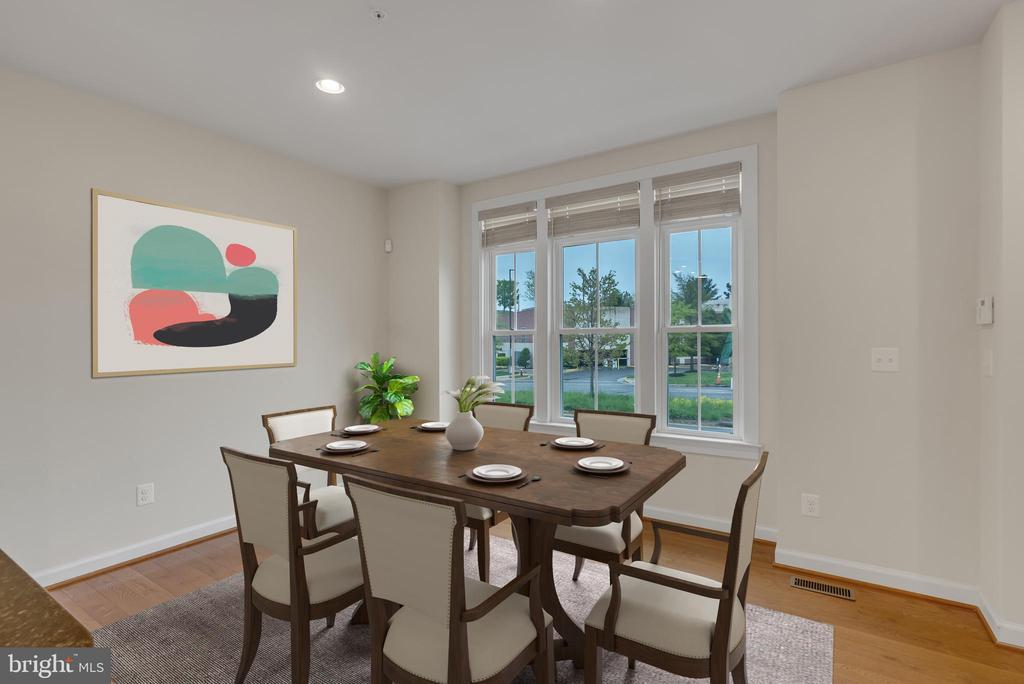 Dining room - 11357 RIDGELINE RD, FAIRFAX