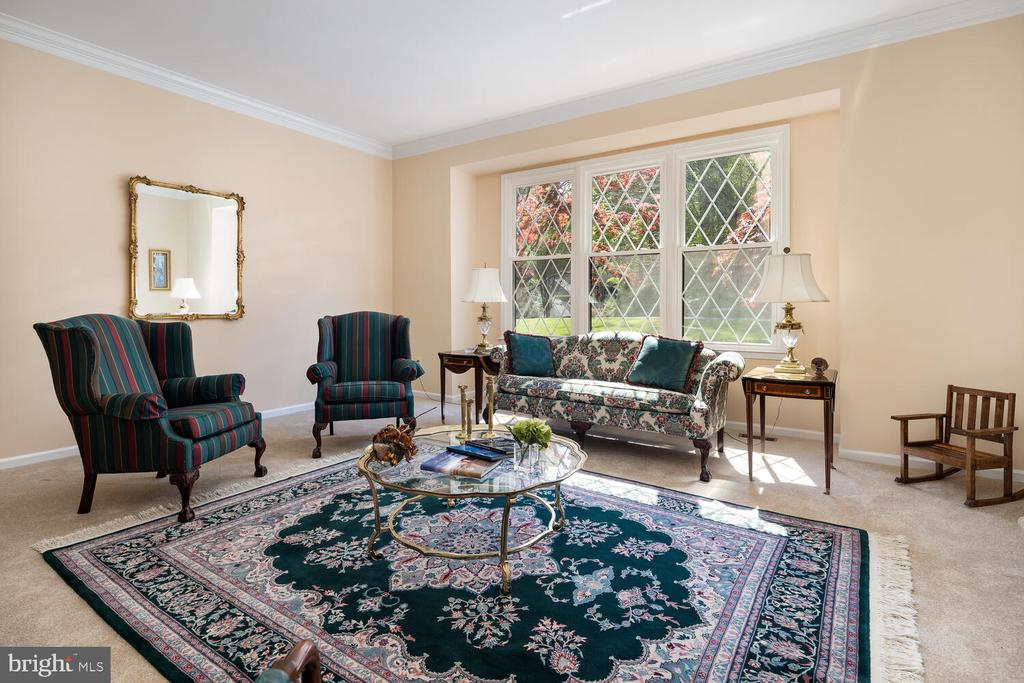 Large Spacious Living Room! - 10654 CANTERBERRY RD, FAIRFAX STATION