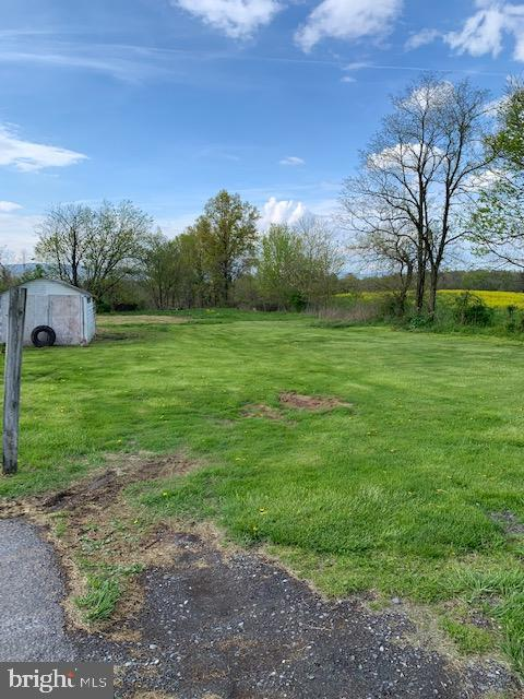 Portion of back yard - 10612 SHEELEY RD, THURMONT