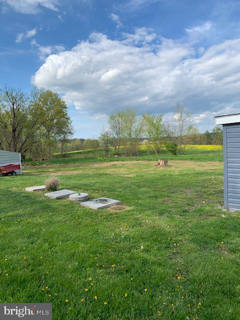 Back Yard, New Septic System - 10612 SHEELEY RD, THURMONT