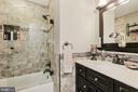 Hall Bathroom - 604 RIDGEWELL WAY, SILVER SPRING