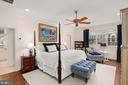 Primary bedroom - 2208 KALORAMA RD NW, WASHINGTON