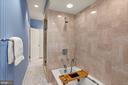 Primary bedroom bath - 2208 KALORAMA RD NW, WASHINGTON