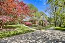 Driveway with plenty of room for parking - 3033 KNOLL DR, FALLS CHURCH
