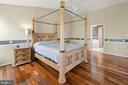 Master Bedroom with exquisite flooring - 2104 BEAR CREEK CT, FREDERICK