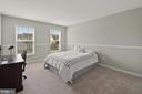 Additional bedroom with new wall-to-wall carpet - 2104 BEAR CREEK CT, FREDERICK