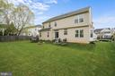 Tons of yard space for family outdoor fun - 2104 BEAR CREEK CT, FREDERICK