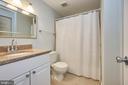 Updated full bath on main level - 104-B N BEDFORD ST, ARLINGTON