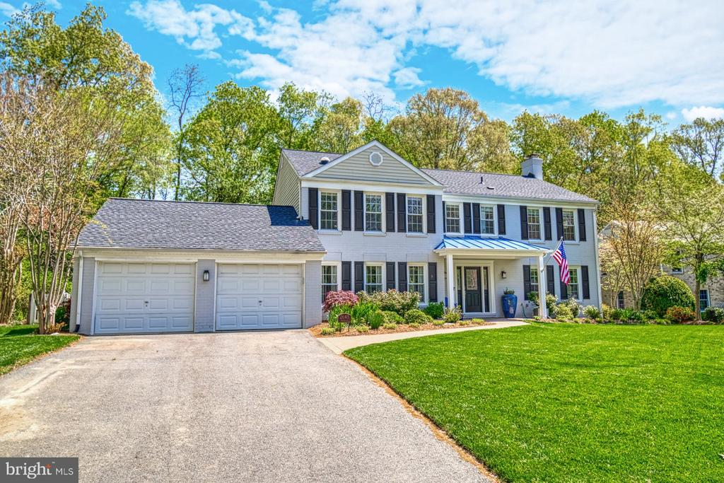 Painted in 2018 with new shutters - 2645 BLACK FIR CT, RESTON