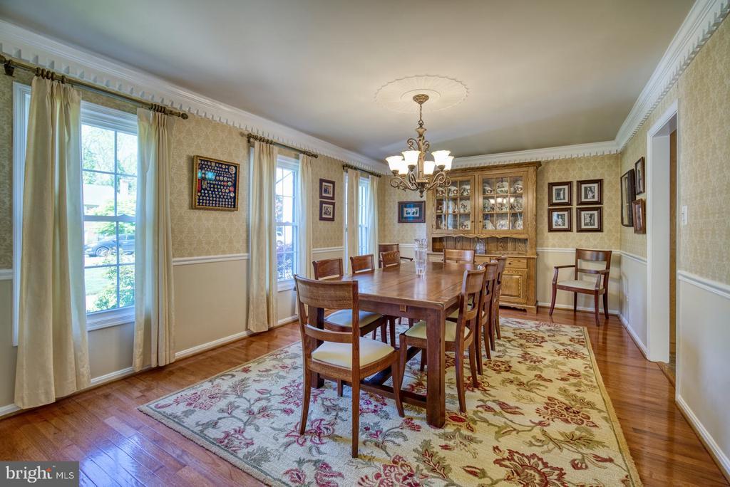 Formal Dining room - 2645 BLACK FIR CT, RESTON