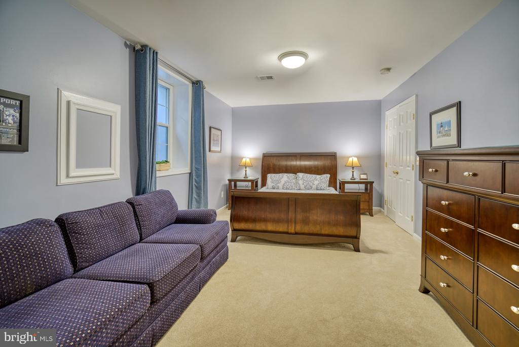 Legal 5th bedroom with egress - 2645 BLACK FIR CT, RESTON