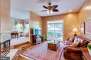 Open floor plan w/ kitchen, family room and living - 1206 WOODBROOK CT, RESTON