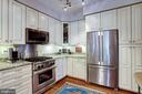 Many upgrades including under the counter lighting - 1206 WOODBROOK CT, RESTON