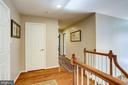 Upper level with hardwood. - 1206 WOODBROOK CT, RESTON