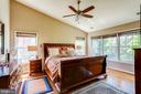 Large primary bedroom with extra window. - 1206 WOODBROOK CT, RESTON