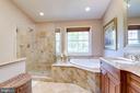 Frameless shower door - 1206 WOODBROOK CT, RESTON