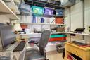 Office on upper level or extra storage area. - 1206 WOODBROOK CT, RESTON